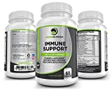 Immune Support: Advanced Powerful Antioxidant Formula For Strengthening & Boosting Daily Immune System Health & In Times Of Stress. Promotes Cellular Processes to Nourish, Detoxify & Cleanse. 60caps.