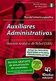 img - for Auxiliares Administrativos del SAS. Test Espec fico (Spanish Edition) book / textbook / text book