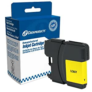 Dataproducts DPCLC65Y Remanufactured High Yield Ink Cartridge Replacement for Brother LC61/LC65 (Yellow)