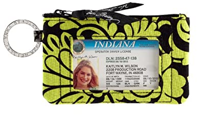 Vera Bradley Zip ID Case in Many Colors (Baroque)