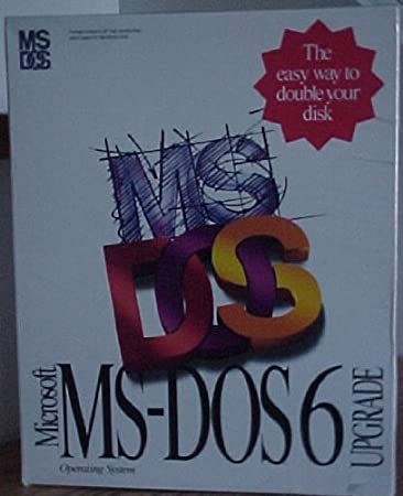 Microsoft MS-DOS 6 Upgrade (5.25