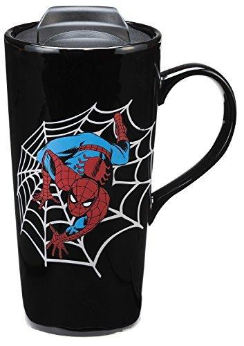 Marvel Spider-Man 20 Oz. Heat Reactive Travel Mug