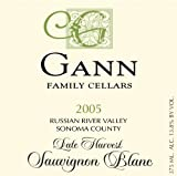 2005 Gann Family Cellars Late Harvest Sauvignon Blanc 375 mL