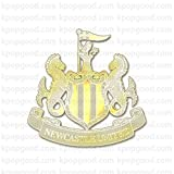 24k Gold Plated Newcastle United Emblem Cell Phone Sticker