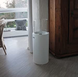 xxl design bio ethanol kamin gelkamin rund model venezia wei 916 k che haushalt. Black Bedroom Furniture Sets. Home Design Ideas