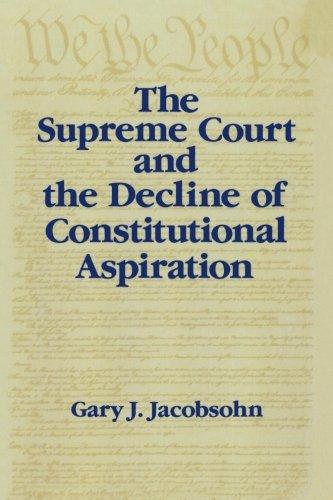 最高法院和宪法雄心的衰落