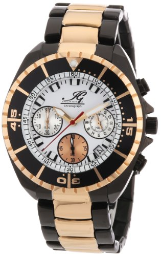 Ingraham - IG SYRA.1.618473 - Montre Homme - Quartz Chronographe - Chronomètre - Bracelet Acier Inoxydable Plaqué Multicolore
