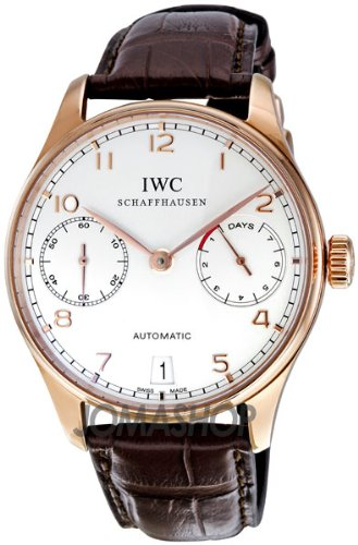 IWC Portuguese Men's Automatic 18K Rose Gold - IW500113