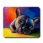 CafePress French Bulldog 5 Mousepad - Standard Multi-color from CafePress
