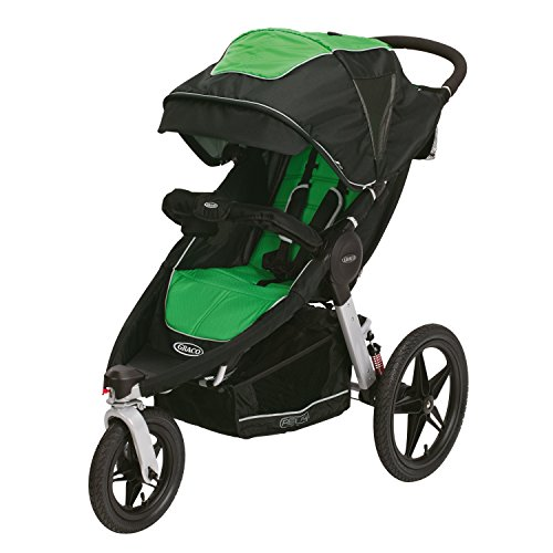 Graco Relay Click Connect Jogging Stroller, Fern - 1