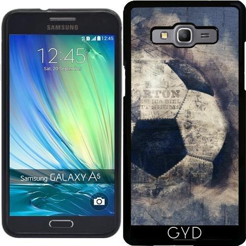 Custodia in silicone per Samsung Galaxy A5 2015 (SM-A500) - Astratto Blu Grunge Calcio by Gatterwe