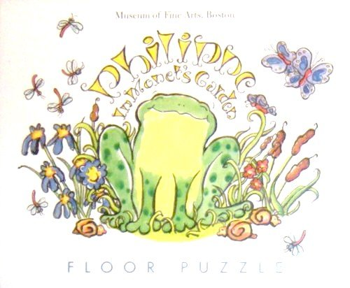 Cheap Museum of Fine Arts Boston Philippe In Monet's Garden Floor Puzzle (B00535DHXY)