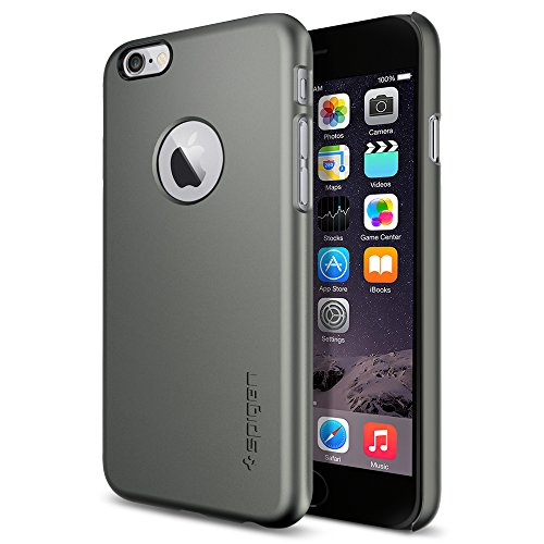 iPhone 6 ケース Spigen Apple iphone 4.7 (2014) シン・フィット A (国内正規品) (ガンメタル SGP10944)