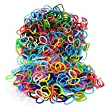 Fashion Loom Refill Bands Assorted Colors - 1,100 Pieces