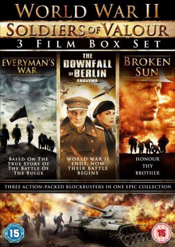 world-war-ii-soldiers-of-valour-3-disc-boxset-everymans-war-the-downfall-of-berlin-broken-sun-dvd-re