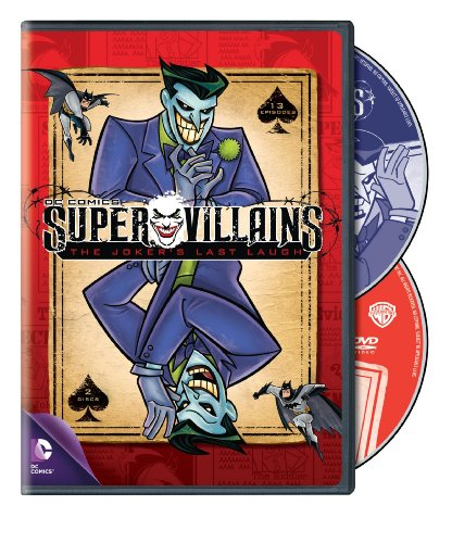 Cover art for  Super Villains: The Jokers Last Laugh