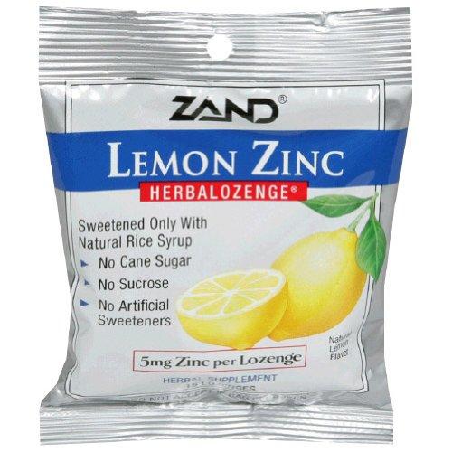 Herbal Lozenge-Lemon Zinc Zand 15 Lozenge