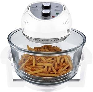 Big Boss 9064 1300-watt Oil-Less Fryer, 16-Quart, White by Big Boss