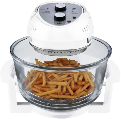 Big Boss 9064 1300-watt Oil-Less Fryer, 16-Quart, White