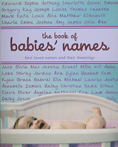 Baby Book Names