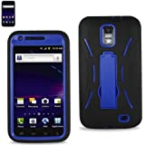 Black/blue Fashionable Perfect Silicone Case Protector Cover Hybrid Case for Samsung Galaxy S ii Skyrocket I727