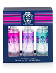 Love & Prep Body Mist Collection Set
