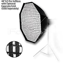 "Fotodiox Pro Studio Solutions EZ-Pro 48"" Octagon Softbox with Speedring for Bowens Gemini Standard/ Classica Powerpack"
