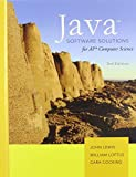 img - for Java Software Solutions AP Comp. Science by John Lewis William Loftus Cara Cocking (2010-01-22) Hardcover book / textbook / text book