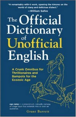 Logo for The Official Dictionary of Unofficial English