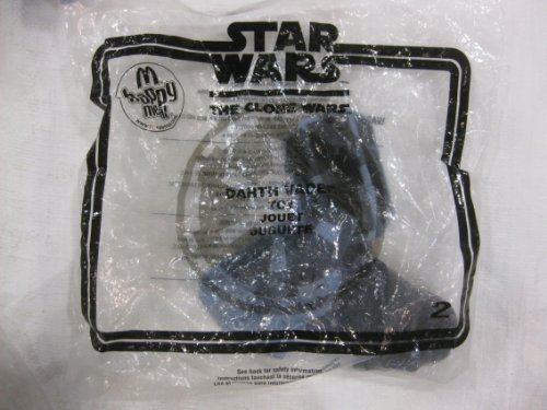 McDonalds Happy Meal Toy Star Wars Clone Wars Darth Vader 2008