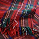 Royal Stewart Tartan Wool Blanket Travel Rug