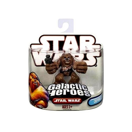 Star Wars Galactic Heroes Chewbacca Action Figure