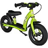 BIKESTAR® 25.4cm (10 pouces) Vélo Draisienne pour enfants ★ Edition Classic ★ Couleur Vert