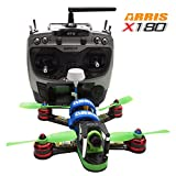 ARRIS X180 180mm FPV Racing Drone RC Quadcopter Racer Assembled RTF with F3 Flight Controller + 700 Camera + 5.8G 200mW TX + Radiolink AT9 Transmitter