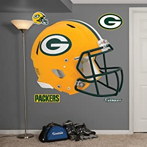 NFL Green Bay Packers Helmet Wall Graphics by Fathead