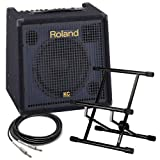 Roland KC-350 Stereo Keyboard Amplifier PAK w/ Amp Stand & Cable
