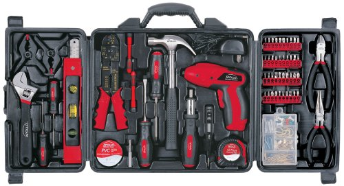 Apollo Precision Tools DT0738 161 Piece Household Tool Kit (Household Screwdriver compare prices)