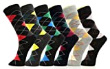 Fashion Mic Mens Cotton Blended Dress Socks- Multiple Styles