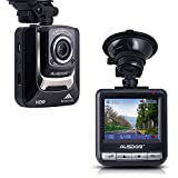 AUSDOM AD282 Dash Cam Full HD 1080P ,G-Sensor,Loop Recording and Parking Monitor Car Camera Recorder for Vehicle with 16GB Micro SD Card