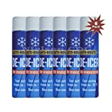 Auto Route Winter De-Icer for Windscreens ARD-I600-6 - 6x600ML = 6 Pack