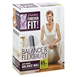 Forever Fit Anti-Burst Balance Ball, Balance & Flexibility, 65 cm, 1 ball