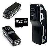Mini DV MD80 DVR Sport Video Camera w/8GB Memory Hidden Video Digital Camera