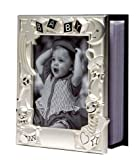Baby's Matt Silver Plated Photo Album That Holds 100 4x6