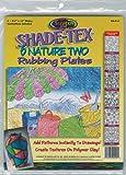 Melissa & Doug Shade-Tex Rubbing Plates - Nature Two Set