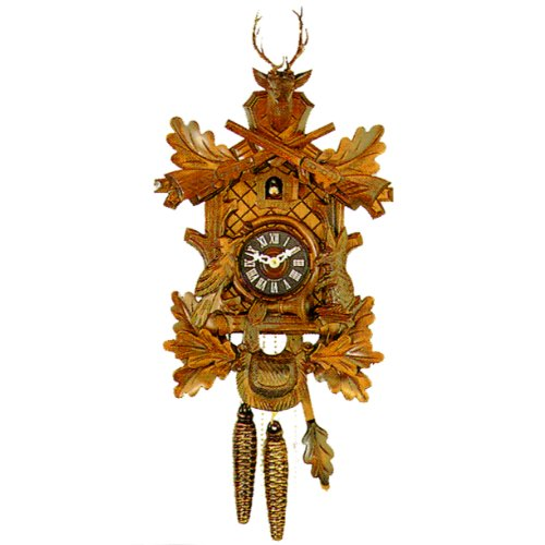 One Day Three Weight Live Animal Musical Cuckoo Clock