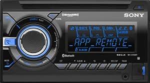 Sony WXGT90BT Bluetooth/App Remote Car Stereo Receiver with Pandora (Black)