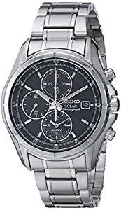 Seiko Men's SSC001 Alarm Chronograph Dress Watch