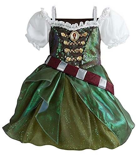 Disney Store Zarina The Pirate Fairy Costume Dress Tinkerbell