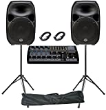 Wharfedale Titan 15D Live Performance PA System -840W, 8 Channel, Active
