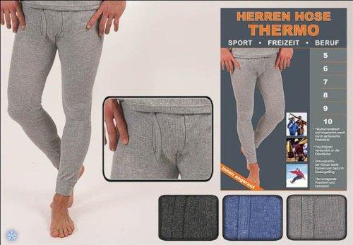 2er Pack lange Unterhosen Herren. Herren Thermohose Sport, Freizeit & Beruf. blauSw7